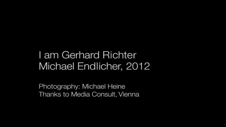 I am Gerhard Richter