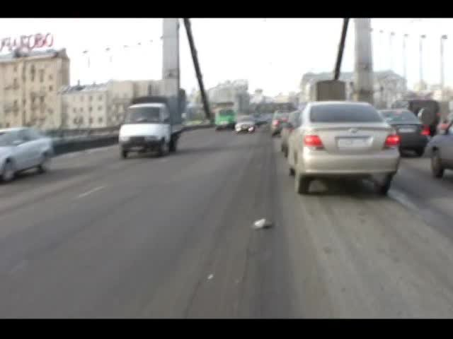 Bicycling Moscow